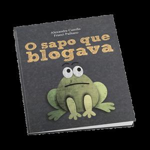 Livro o Sapo que Blogava
